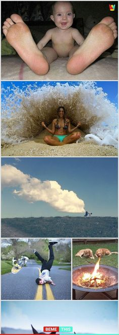 Funny Photos That Were Taken at the Right Time - bemethis Cool Pictures, Cool Photos, Funny Pictures, Funny Cute, Hilarious, Perspective Photography, Perfectly Timed Photos, Foto Art, Perfect Timing