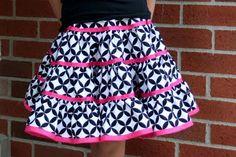 twirl skirt with ribbon trim...super cute!!!