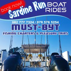 Make your first choice to book a trip during the 2016 ! Run And Ride, Fishing Charters, Deep Sea, Competition, Running, Boating, Books, Travel, Instagram