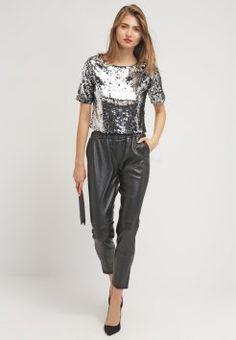 Bik Bok - HOOVER - T-Shirt print - silver