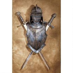 armor and swords