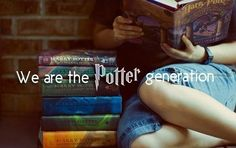 We are the Potter generation. ♥ We have stuck with Harry until the very end. ☼