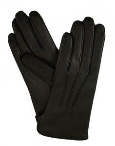 Damen Handschuhe Leder - warme Lederhandschuhe mit 100% Kaschmir gefüttert, Luxus Handschuhe reduziert