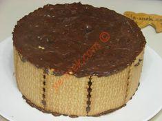 Bisküvili Pasta Tarifi Yapılış Aşaması 10/16 Cheesecake, Desserts, Pizza, Food, Tailgate Desserts, Deserts, Cheesecakes, Essen, Postres