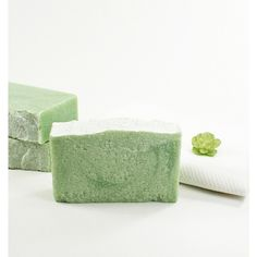 Clean Cotton Salt Soap Sea Salt Soap, Cold Process Soap, Fresh Clean... (€6,17) ❤ liked on Polyvore featuring men's fashion and men's grooming