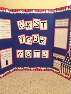 Election from Mrs. Terhune's First Grade Site! 2nd Grade Activities, Social Studies Activities, Teaching Social Studies, Learning Activities, Thanksgiving Bulletin Boards, November Bulletin Boards, Dramatic Play Themes, Dramatic Play Centers, Voters Day