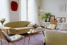 Great looking French modern room!