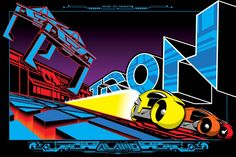Tron - movie poster