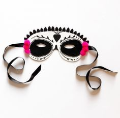 """Masque """" Day of the dead """" pour Halloween tuto DIY - Couture - Pure Loisirs"""