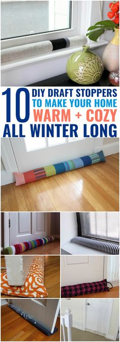 10 DIY Draft Stoppers to Warm Your Home in Style - Sarah Blooms Diy Furniture Projects, Diy Craft Projects, Sewing Projects, Crafts For Kids, Craft Ideas, Door Draught Stopper, Draft Stopper, Diy Generator, Sculptural Fashion