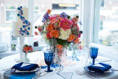 Dazzling Blue Wedding Ideas // Photo by Sarah Roshan, see more: http://theeverylastdetail.com/dazzling-blue-wedding-ideas/