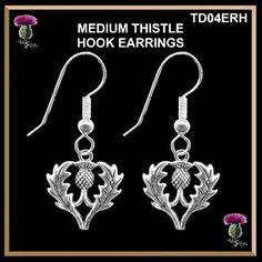 Thistle Hook Earrings