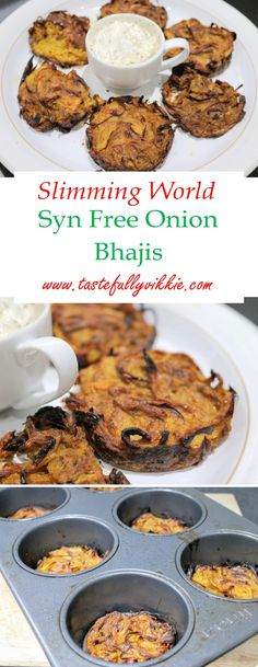 Slimming World Syn Free Onion Bhajis – Comida Saludable Slimming World Dinners, Slimming World Recipes Syn Free, Slimming World Diet, Slimming Eats, Slimming World Hash Brown, Slimming World Lunch Ideas, Slimming World Breakfast Ideas Quick, Slimming World Hunters Chicken, Baked Oats Slimming World
