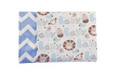 Baby Love Reversible Minky Blanket - Levi & Evelyn