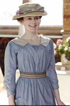 Sophie McShera as Daisy in Downton Abbey (2010).