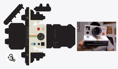 vintage camera box template - Buscar con Google More