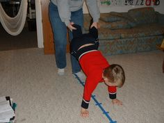 Kathy shares an at-home obstacle course that gets her two boys with SPD really moving. Great inexpensive tips for vestibular and proprioceptive inputs! Pinned by SPD Blogger Network. For more sensory-related pins, see http://pinterest.com/spdbn