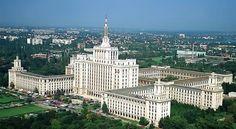 Press House, Bucharest, Romania.