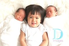 Newborn Twins, The Divine Double by D Images on http://inspiremebaby.com