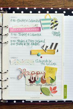 Simple Stories Carpe Diem A5 Planner