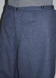 Blue gray English Kersey Richmond Depot Style