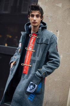 Oscar Kindelan at PFW F/W 2018 by Melodie Jeng