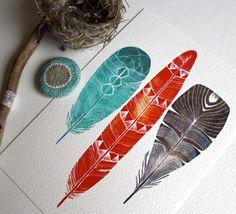 22 Wonderful Ways to Rock Watercolor via Brit + Co.