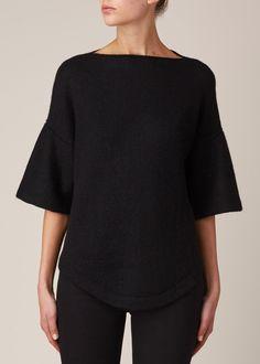Lauren Manoogian Dovetail Pullover (Black)