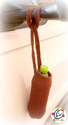 join us in making water bottle soakers to send to our U.S. soldiers. Free crochet pattern included.