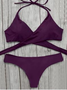 GET $50 NOW | Join RoseGal: Get YOUR $50 NOW!http://www.rosegal.com/bikinis/wrap-bikini-top-and-baroque-1088342.html?seid=9252781rg1088342