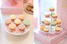 Helena's Ballerina Themed Party – Dessert spread