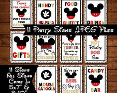 Mickey Balloons, Bubble Balloons, Latex Balloons, Birthday Balloons, 4th Birthday, Mickey Mouse Birthday Decorations, Mickey Mouse Parties, Party Signs, Party Items