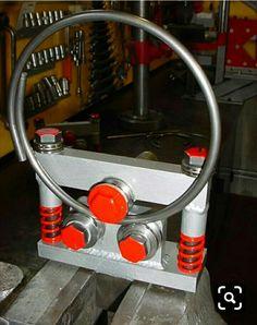 Bending and ring bending tools ring bending machines Werkzeug Metal Bending Tools, Metal Working Tools, Metal Tools, Metal Art, Diy Projects Plans, Metal Projects, Welding Projects, Fabrication Tools, Steel Fabrication