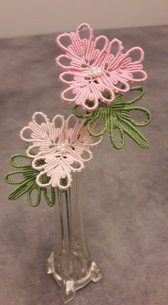 Macrame flowers. Autrice: Iva Baracco