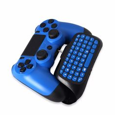 Practical 2.4G Wireless Bluetooth 3.0 Keyboard Keypad Chatpad for PS4 Slim and for Pro Game Controller Gamepad Drop Shipping