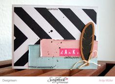 "iLoveSchnipsel: Karte ""Danke"" {Fancy Pants Designs - Office Suite}"