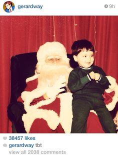 Little Gerard Way.