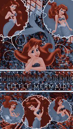 Mermaid Wallpaper Iphone, Little Mermaid Wallpaper, Mermaid Wallpapers, Hippie Wallpaper, Cartoon Wallpaper Iphone, Cute Cartoon Wallpapers, Walt Disney Animated Movies, Walt Disney Animation, Disney Pixar