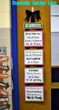 Creekside Teacher Tales: Classroom Pictures!