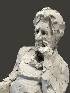 Portret 'Elly Gertzen' by Mooniq Priem Ceramic Figures, Ceramic Art, Traditional Sculptures, Sculpture Head, A Level Art, Famous Art, Life Drawing, Stone Art, Figurative Art