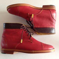 Bota 1810, version rojas.