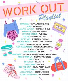 A mix of the classics and some of our personal favorite songs to get you PUMPED make up this workout playlist! Get thee to the gym! Workout Playlist, Workout Songs, Song Playlist, Playlist Running, Road Trip Playlist, Party Playlist, Music Mood, Mood Songs, New Music