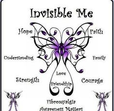 I do feel invisible at times.