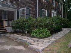 Nice flagstone sidewalk