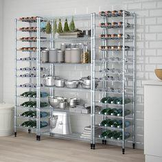 Bakery Kitchen, Home Bakery, Kitchen Pantry, Ikea Kitchen Storage, Ikea Pantry, Kitchen Ideas, Dollar Tree Organization, Pantry Organization, Medicine Organization
