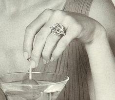 Vintage Harry Winston Diamond Advertisement