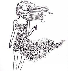 Imagen de music, girl, and dress