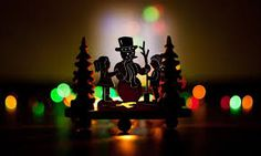 back lit with low light for a silhouette effect. Birth Of Jesus Christ, Christmas In Europe, Low Lights, Christmas Decorations, Table Lamp, Celebration, Silhouette, Home Decor, Table Lamps