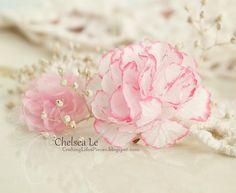 Pretty Little Paper Carnations | AllFreePaperCrafts.com
