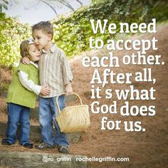 No it's not easy, but we are commanded to love one another. It doesn't mean we have to accept bad behavior but at the core, we need to accept each other.